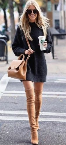 Winter looks for womens, winter clothing, street fashion, casual wear