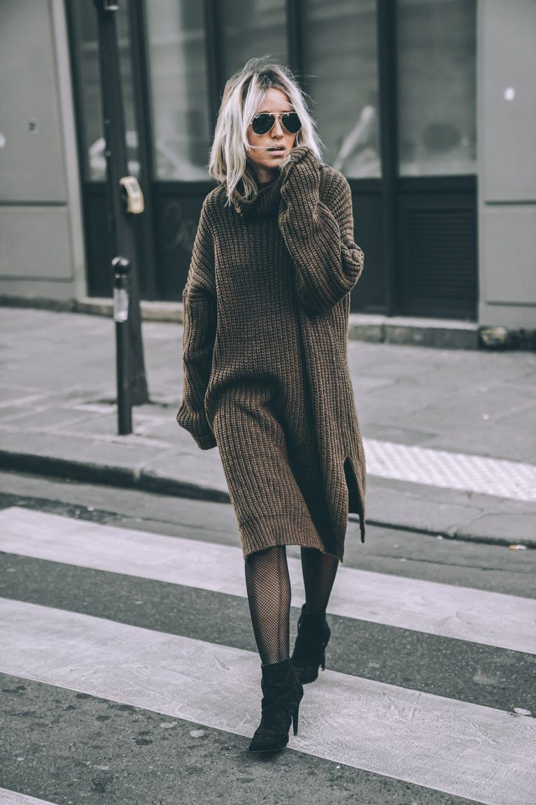 Brown colour outfit, you must try with jacket, coat, fur