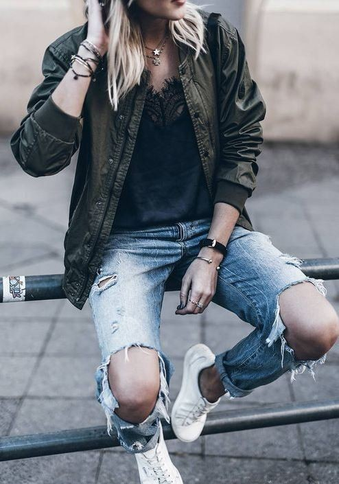 Colour outfit ideas 2020 with hoodie, jacket, denim