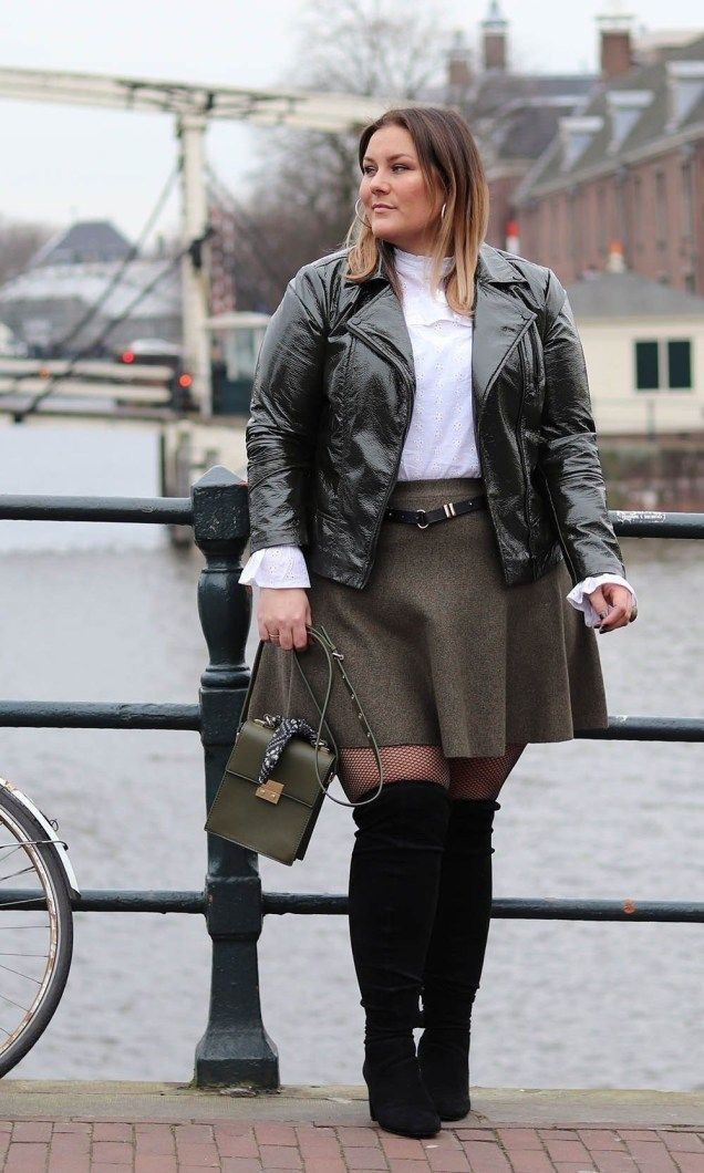 Colour outfit, you must try with leather jacket, trousers, sweater