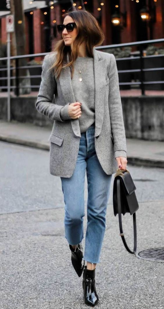 Outfit ideas office outfit jeans