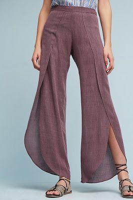 Pantalones indus mujer