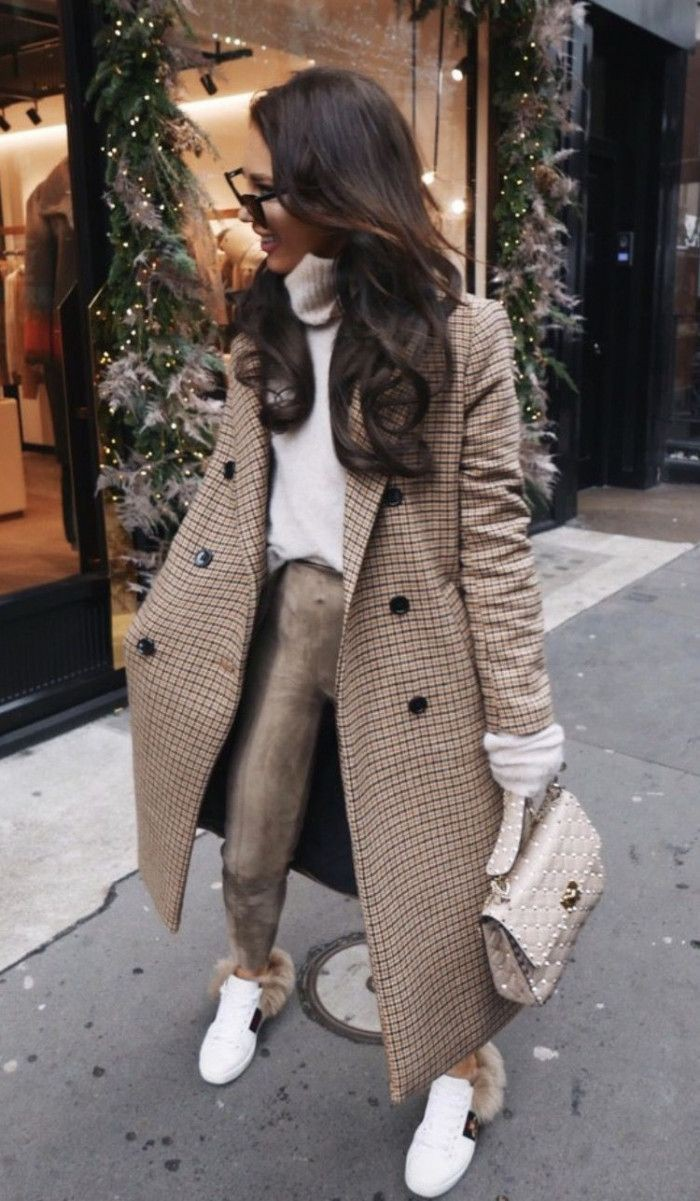 Beige colour ideas with trench coat, trousers, overcoat