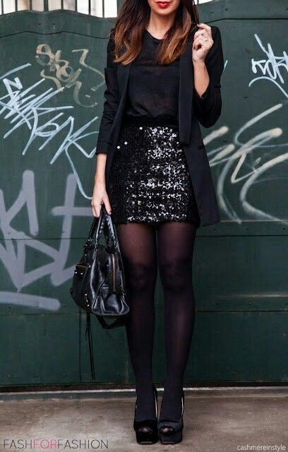 Classy outfit night party outfit little black dress, new years eve