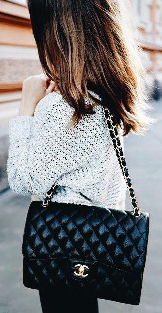 Chanel chain handbag outfit chanel boy chanel, fashion accessory