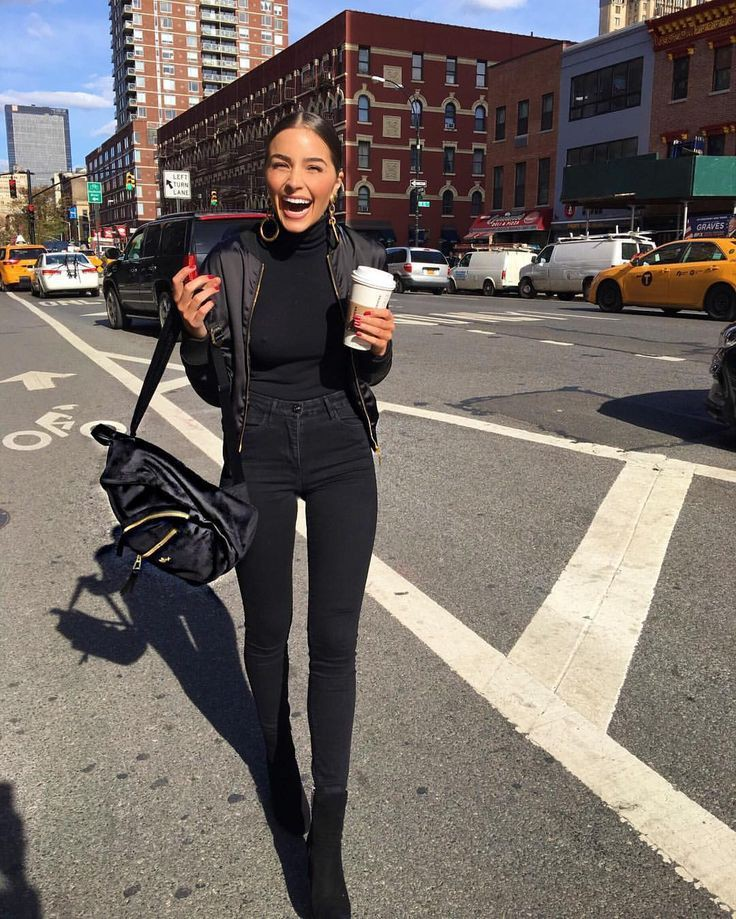 Marc jacobs backpack outfit, winter clothing, street fashion, casual wear, urban area