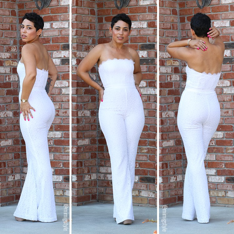 Party womens all white outfits
