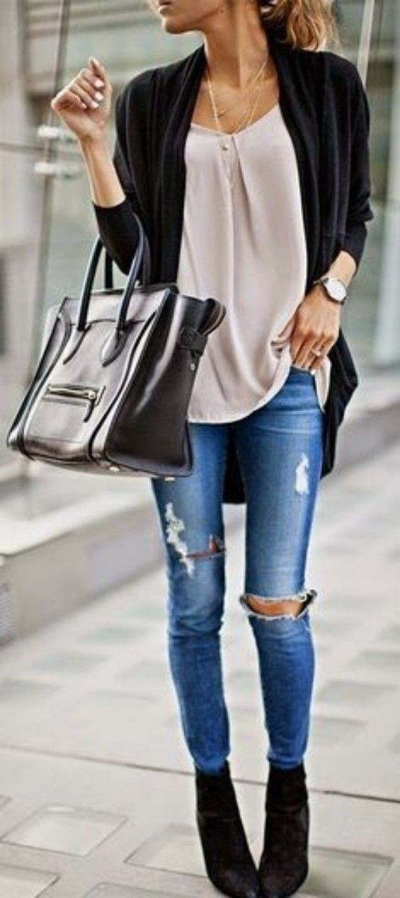 Clothing ideas spring outfits women, street fashion, casual wear