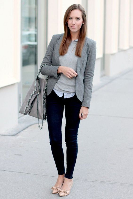 Business casual interview outfit, business casual, street fashion, informal wear, job interview, ...