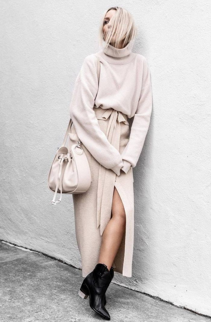Colour dress with trench coat, shorts, skirt