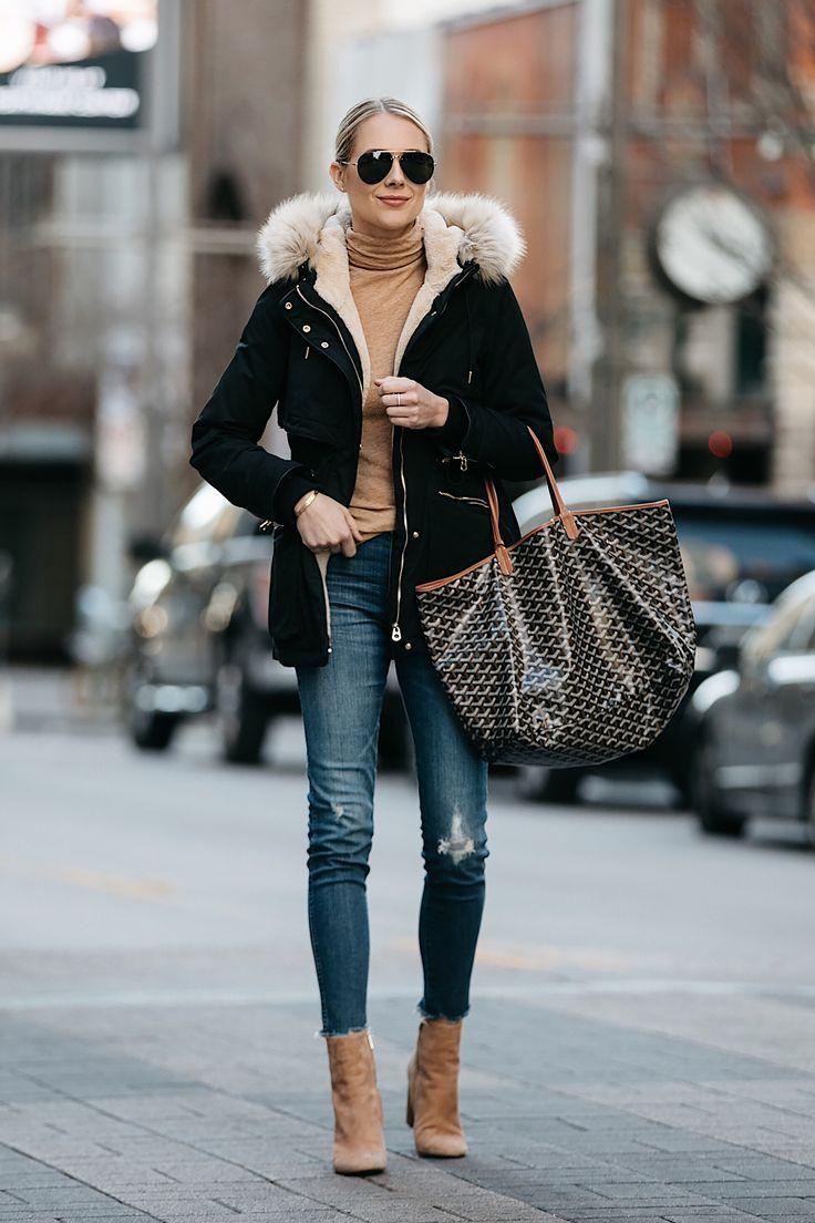 Outfit ideas fur goyard jacket, street fashion, tote bag