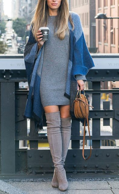 Blue colour outfit, you must try with jacket, skirt, denim