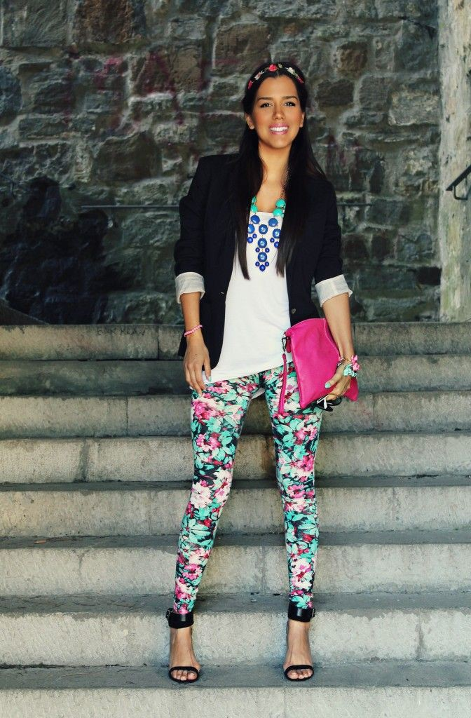 Magenta and pink colour outfit, you must try with leggings, trousers, shorts