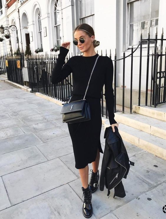 Outfit ideas black outfit ideas little black dress, street fashion