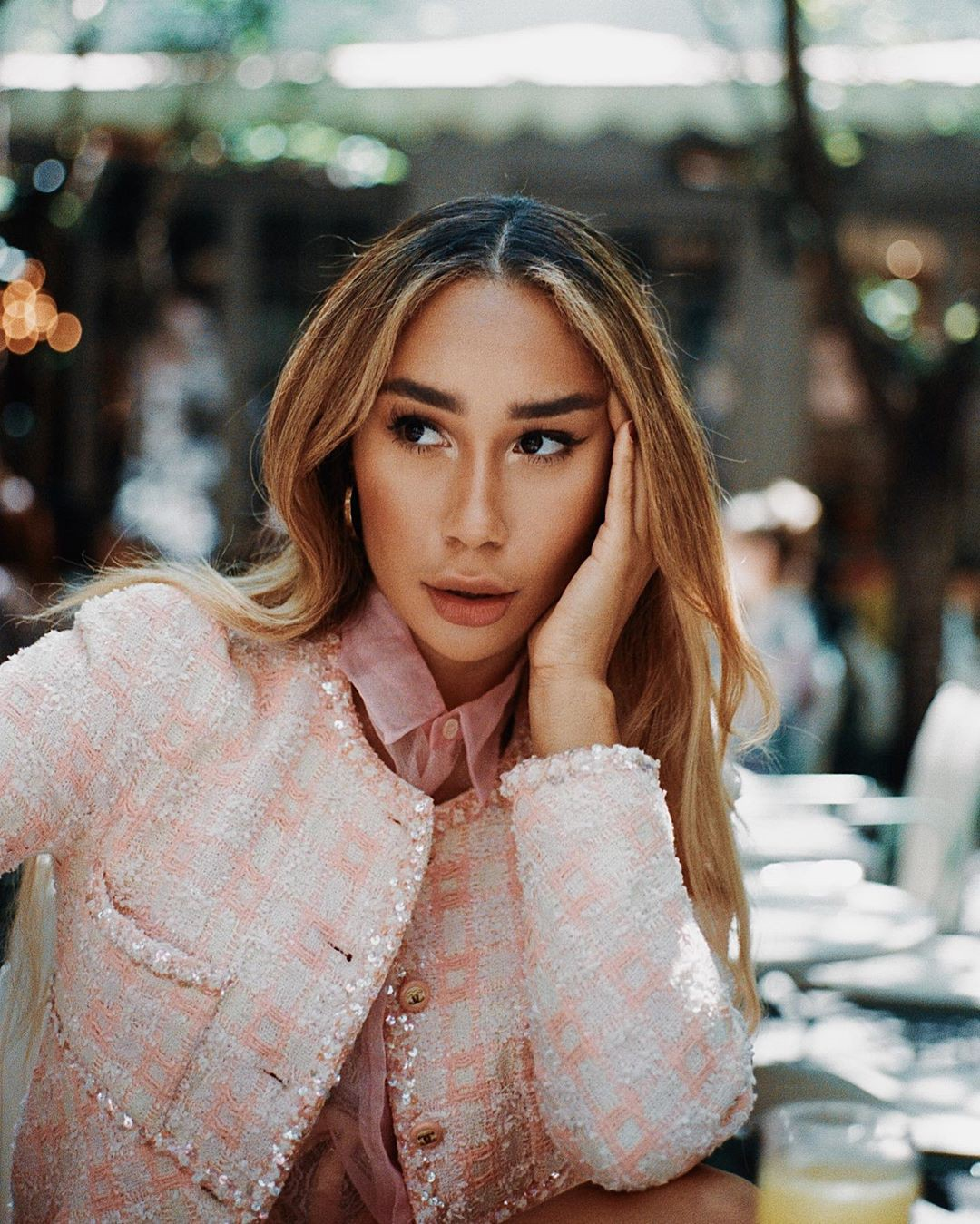 Eva Gutowski blond hairs, Girls With Cute Face, Glossy Lips