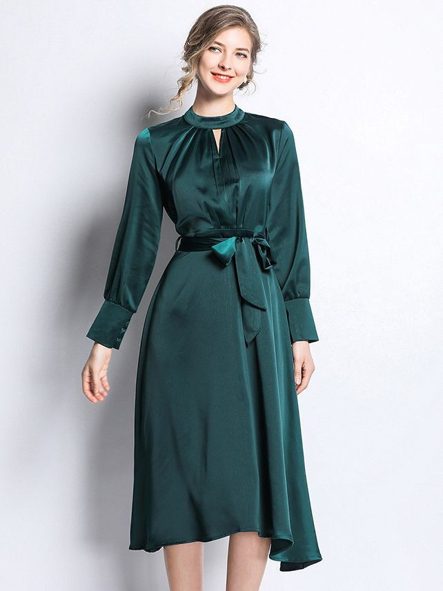 Turquoise and green colour combination with cocktail dress, evening gown, gown, formal wear, tre ...