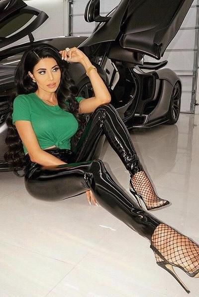 Colour combination commando patent leggings, automotive design, patent leather, latex clothing,  ...