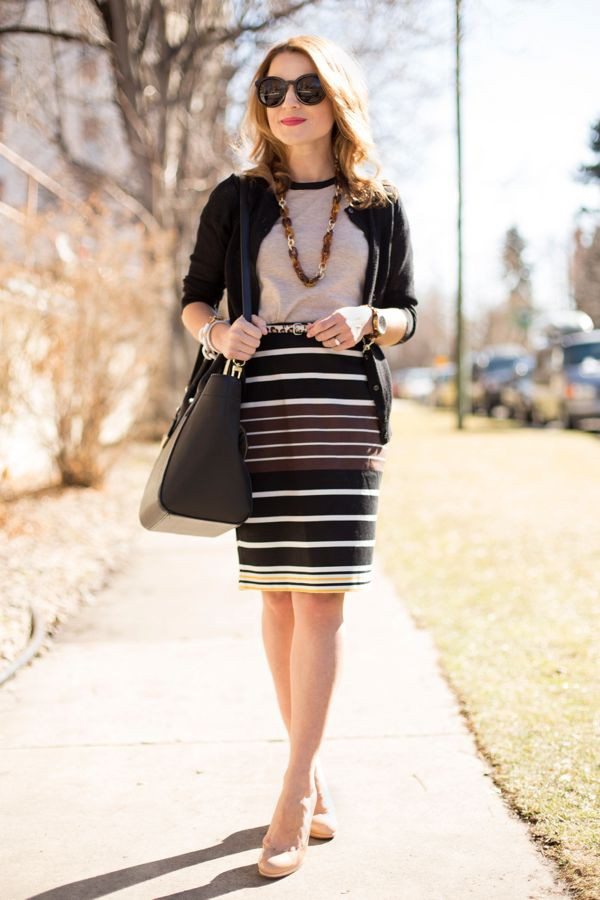 Black and white colour outfit ideas 2020 with cocktail dress, party dress, pencil skirt, miniski ...