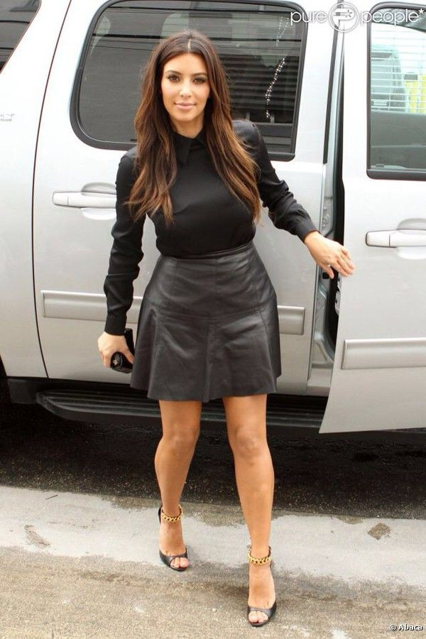 Kim kardashian skater dress little black dress, kim kardashian