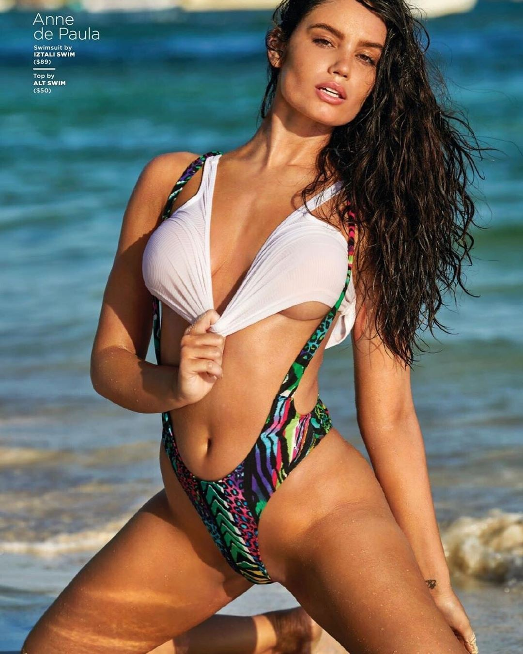 Anne De Paula lingerie, bikini swimwear colour outfit, you must try