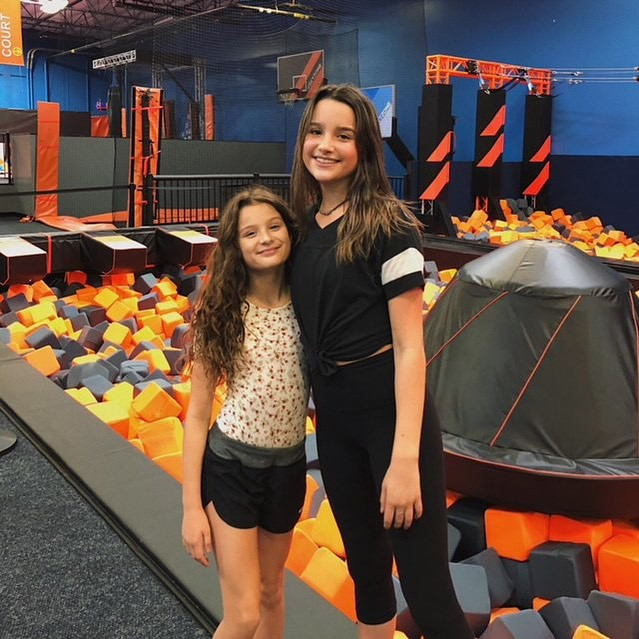 Annie LeBlanc enjoying life, product, orange