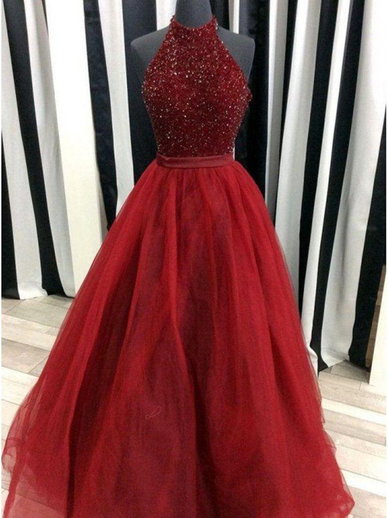 Colour outfit ideas 2020 crimson prom dresses bridal party dress, strapless dress