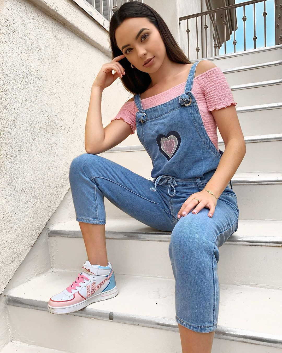 blue colour outfit, you must try with jean short, jeans, denim