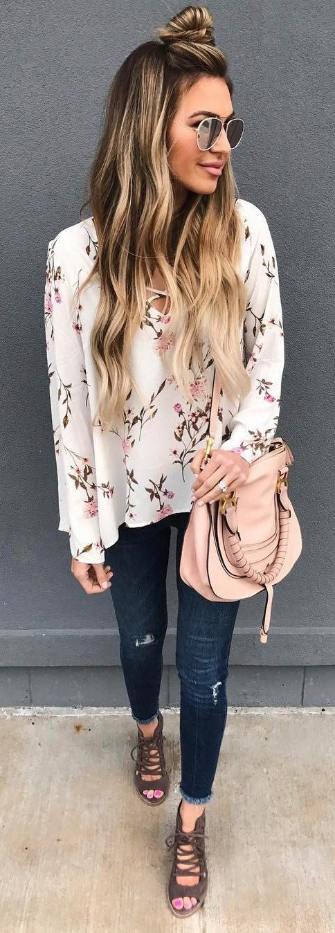 Beige and pink colour combination with sweater, jacket, blazer
