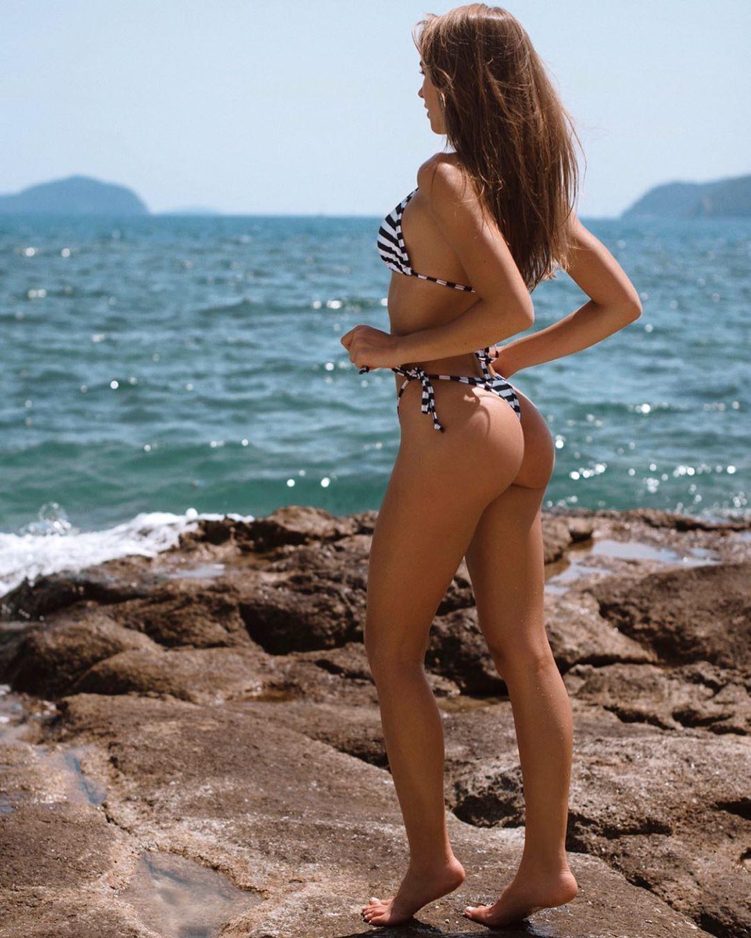Galina Dub bikini swimwear matching ideas for girls, girls photography