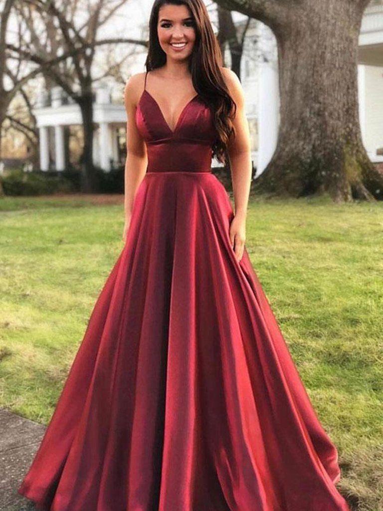 Colour ideas burgundy prom dresses bridal party dress, bridesmaid dress