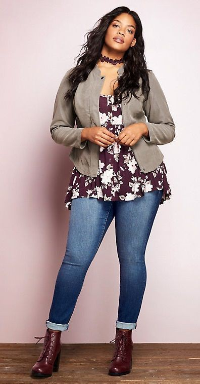 Plus size winter casual outfits