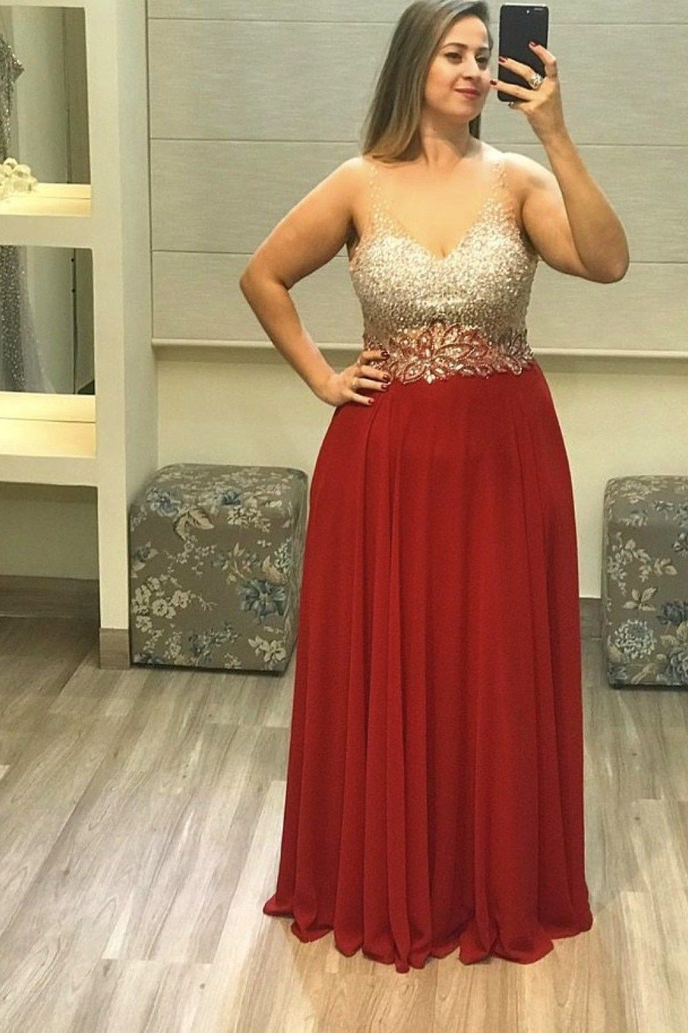 Red colour outfit ideas 2020 with bridal party dress, strapless dress, wedding dress