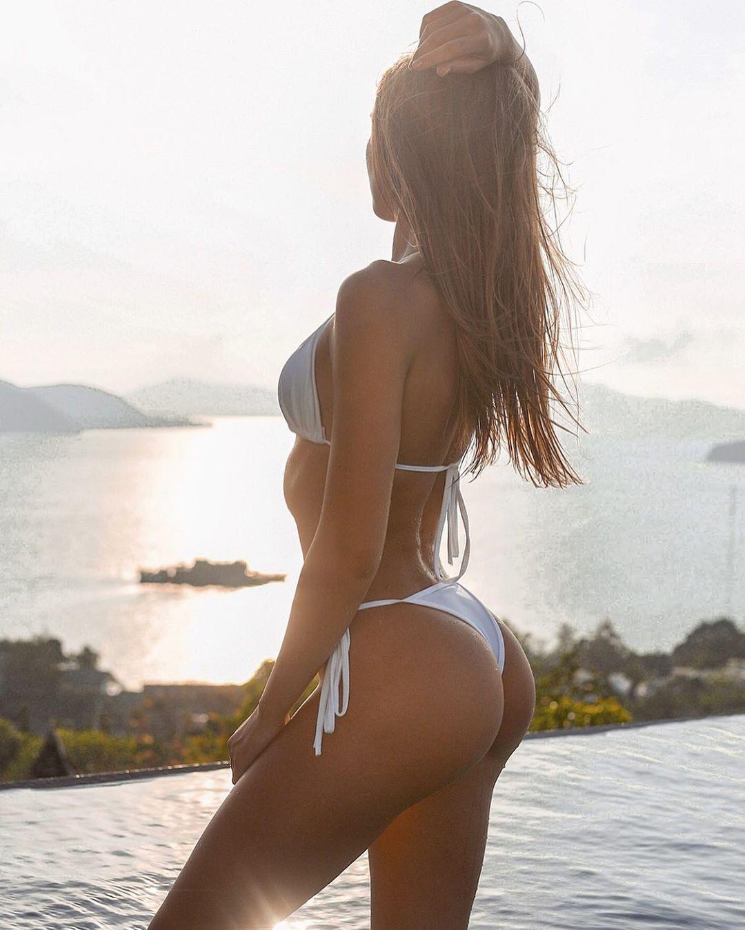 Galina Dub bikini swimwear , thigh pics