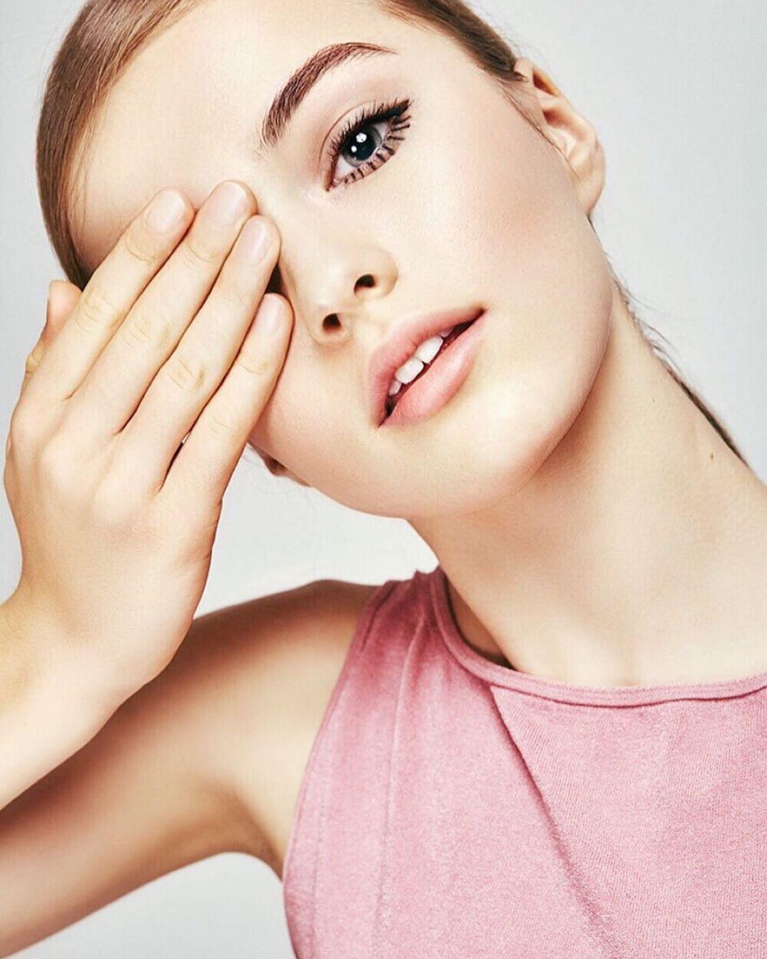 Kristina Pimenova Beautiful Girl Cute Face, Beautiful Lips, Haircuts