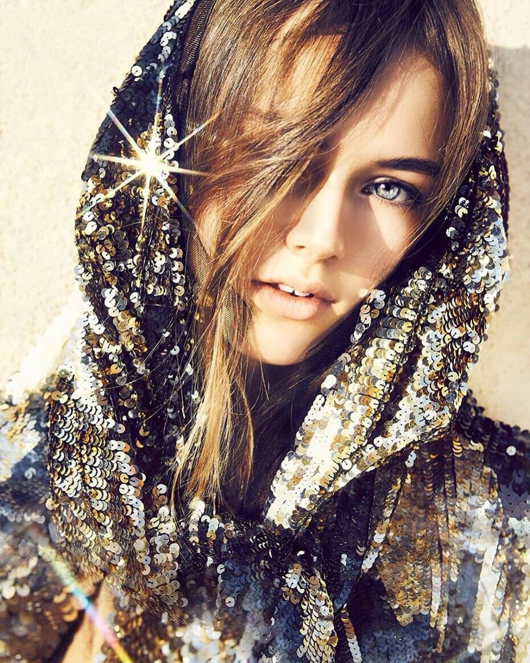 Kristina Pimenova instagram photoshoot, Face Makeup, Lips Smile