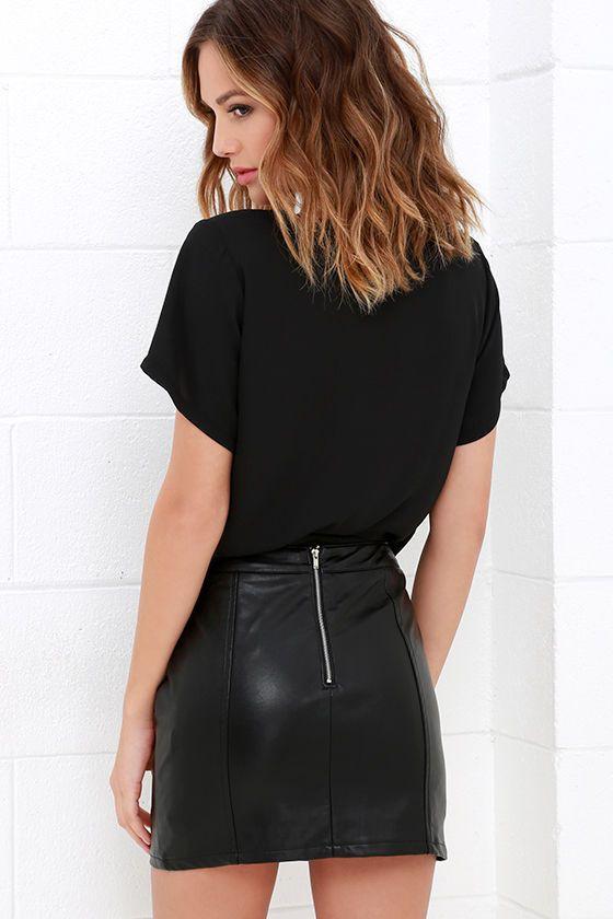 Black clothing lookbook ideas with little black dress