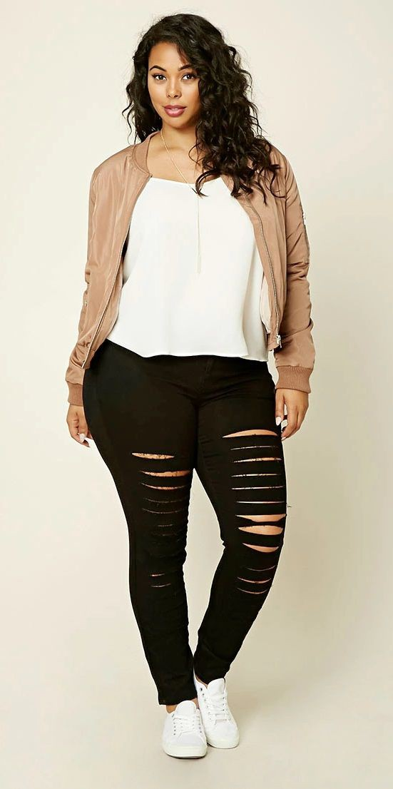 Outfits for plus size girls