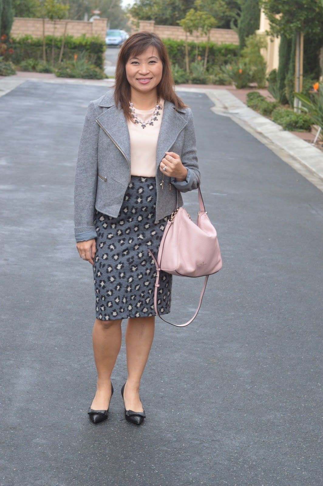 White vogue ideas with polka dot, jacket, blazer