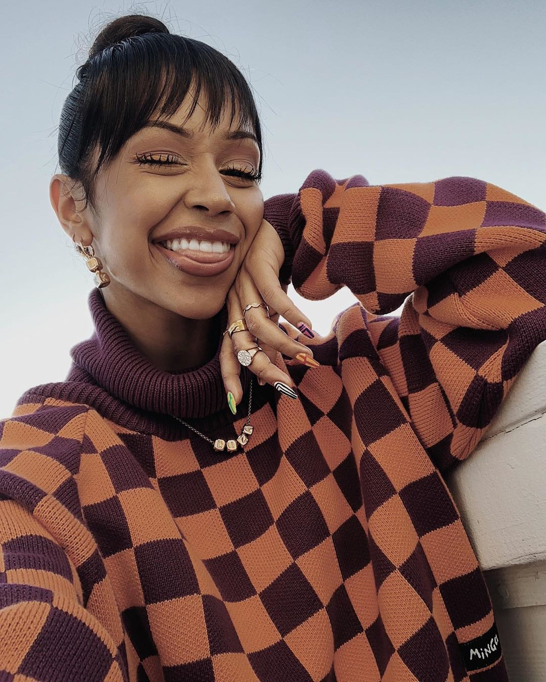 Liza Koshy Lovely Face, apparel ideas, facial expression