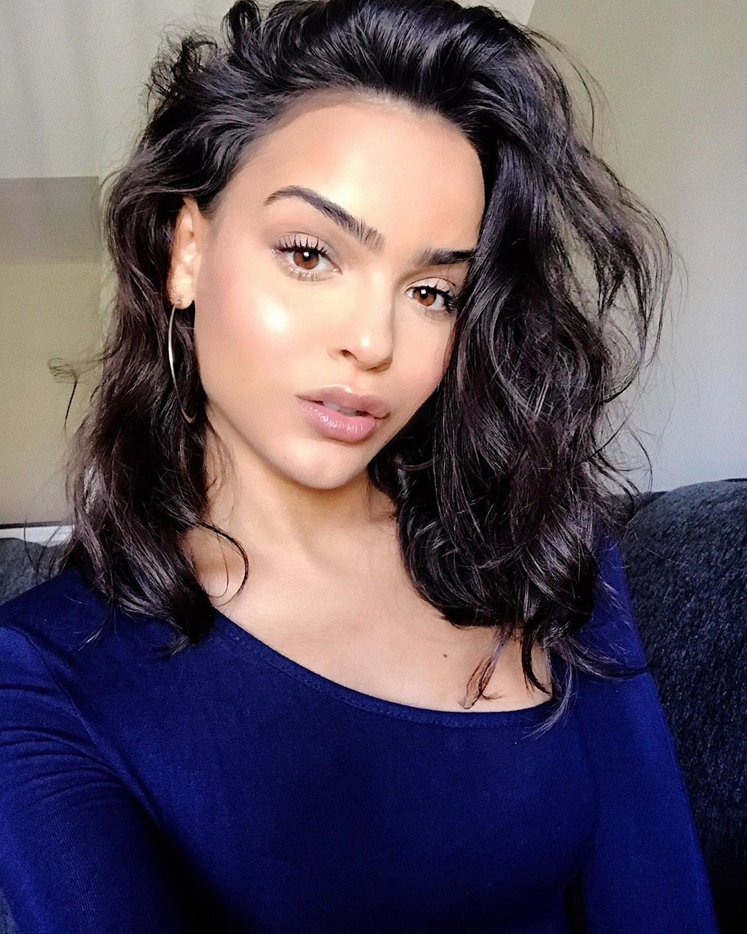 Lisa Ramos Dark Black Hairs, Face Makeup, Beautiful Lips