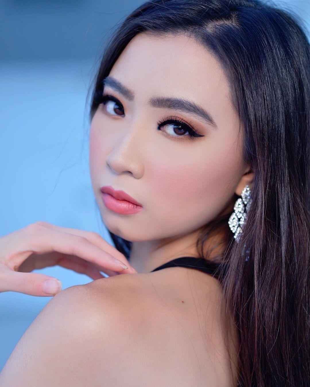 Elizabeth Nguyen Black Haircuts, Pretty Face, Beautiful Lips