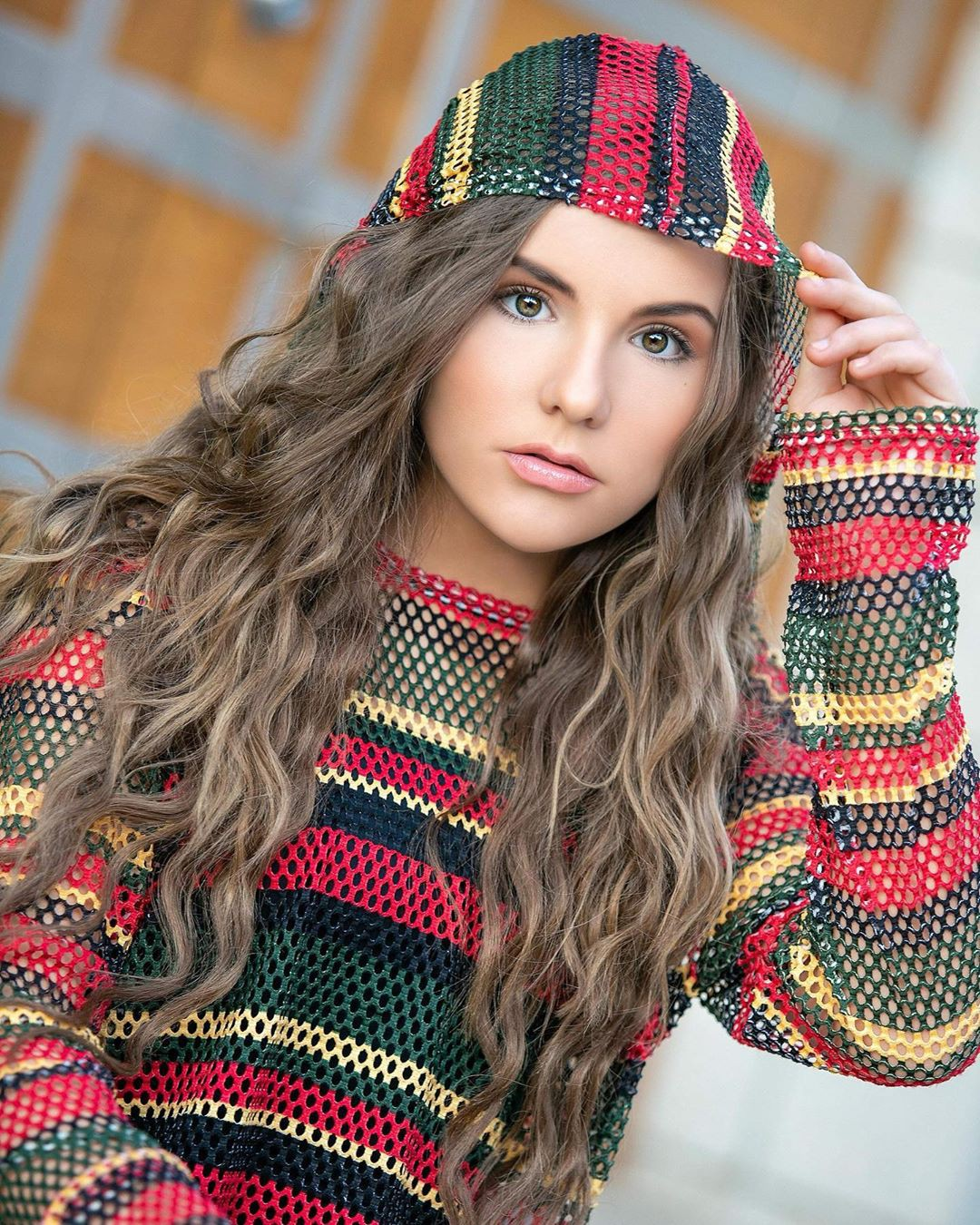 Piper Rockelle Beanie Colour Outfit Ideas 2020, Lips Smile