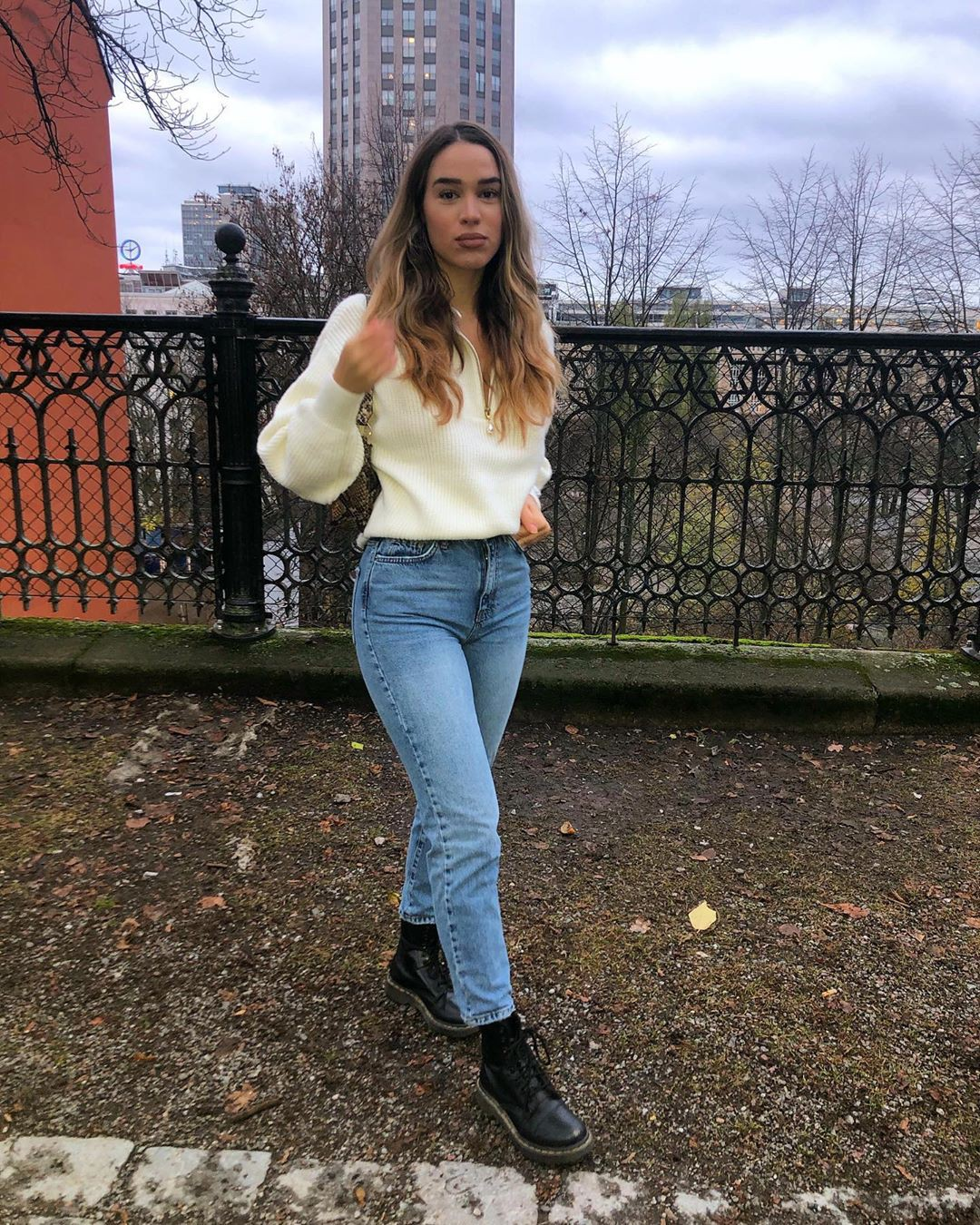 Brown and white denim, jeans, clothing ideas