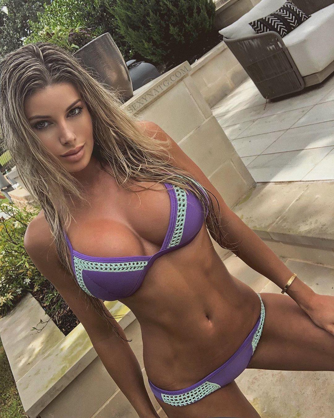 Natalie Gauvreau lingerie, bikini swimsuit top, swimwear matching dress