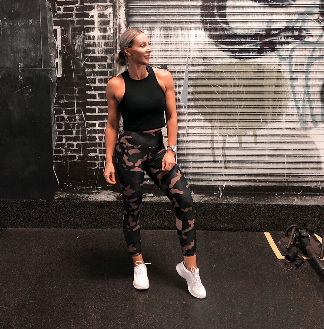 Katie Hewett sportswear colour dress, hot legs, fashion outfits