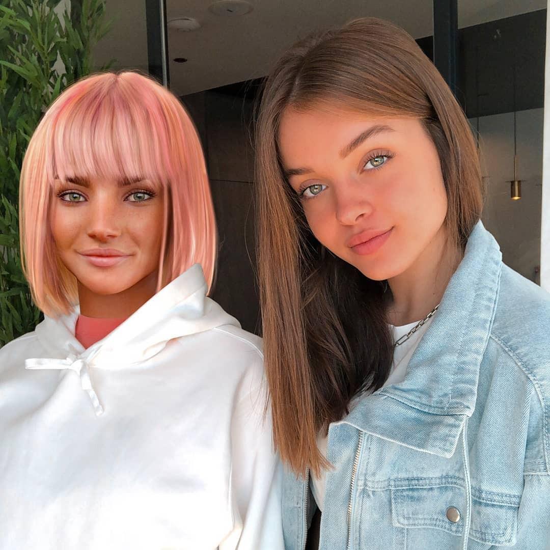 Anna Zak blond hairs, Face Makeup, Beautiful Lips