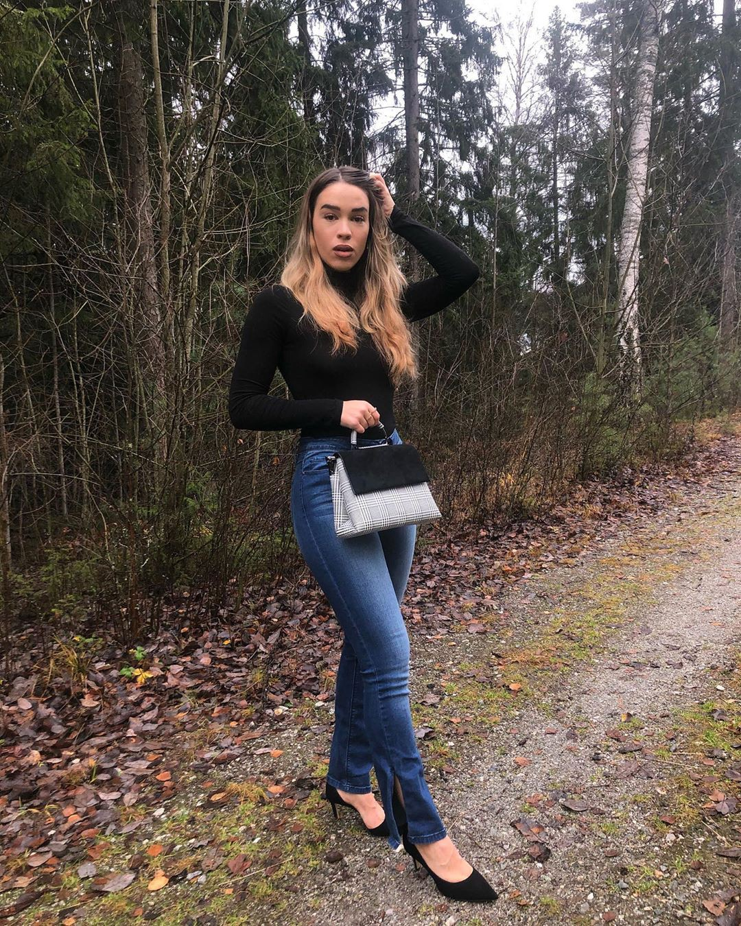 Isabelle Tounsi jacket, denim, jeans designer outfit