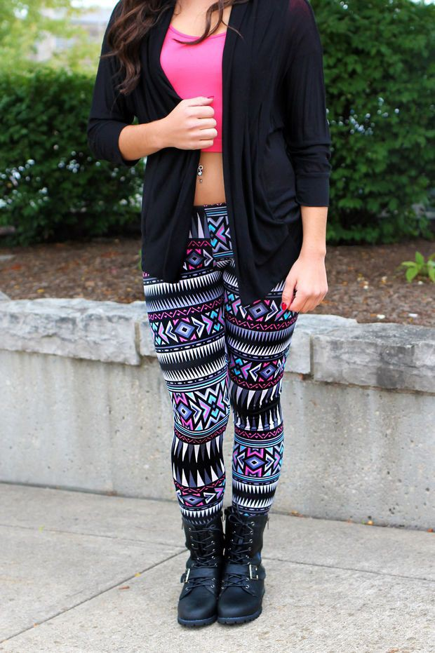 Purple and pink colour outfit, you must try with leggings, shorts, tights