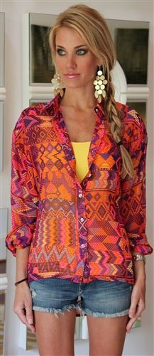 Magenta and purple outfit Pinterest with trousers, sweater, blouse