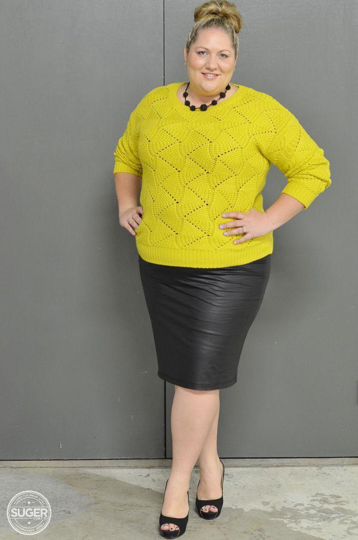 Plus size leather skirt plus size clothing, leather skirt